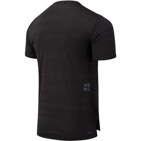 New Balance Q Speed Fuel Jacquard T-Shirt Heren, other black